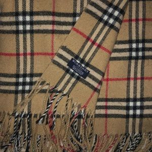 """Burberry """"Classic Vintage Check Cashmere Scarf"""""""